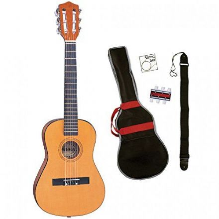 Palma Junior Nylon String Guitar Outfit Natural